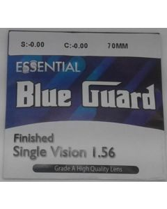Finished Single Vision 1.56 with Blue Guard