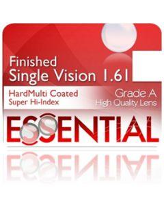 Finished Single Vision Super High Index 1.61 Hard Multi-Coated