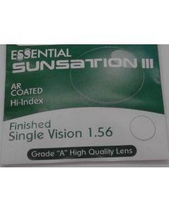 Finished Single Vision 1.56 Sunsation III Anti-Reflective