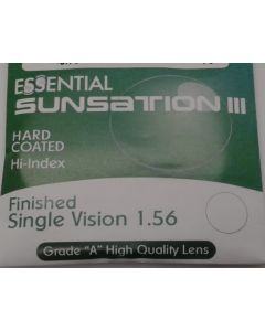 Finished Single Vision 1.56 Sunsation III Hard Coated