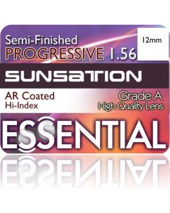 Semi-Finished Progressive Short Cut Sunsation Grey (MFH)13mm 1.56 Anti-Reflective
