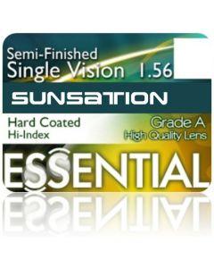 Semi-Finished Single Vision Sunsation High Index 1.56 Hard Coated
