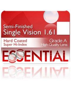 Semi-Finished Single Vision High Index 1.61 Hard Coated