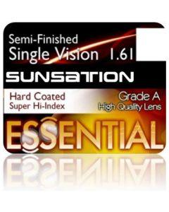 Semi-Finished Single Vision Sunsation Super High Index 1.61 Hard Coated